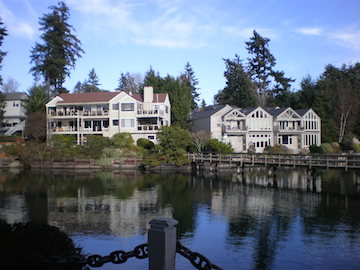 Eagle Harbor on Bainbridge Island